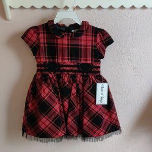 Holiday Christmas dress toddler little girl 2T